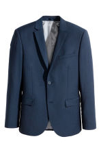 Jacket Slim fit - Dark blue - Men | H&M CN 2